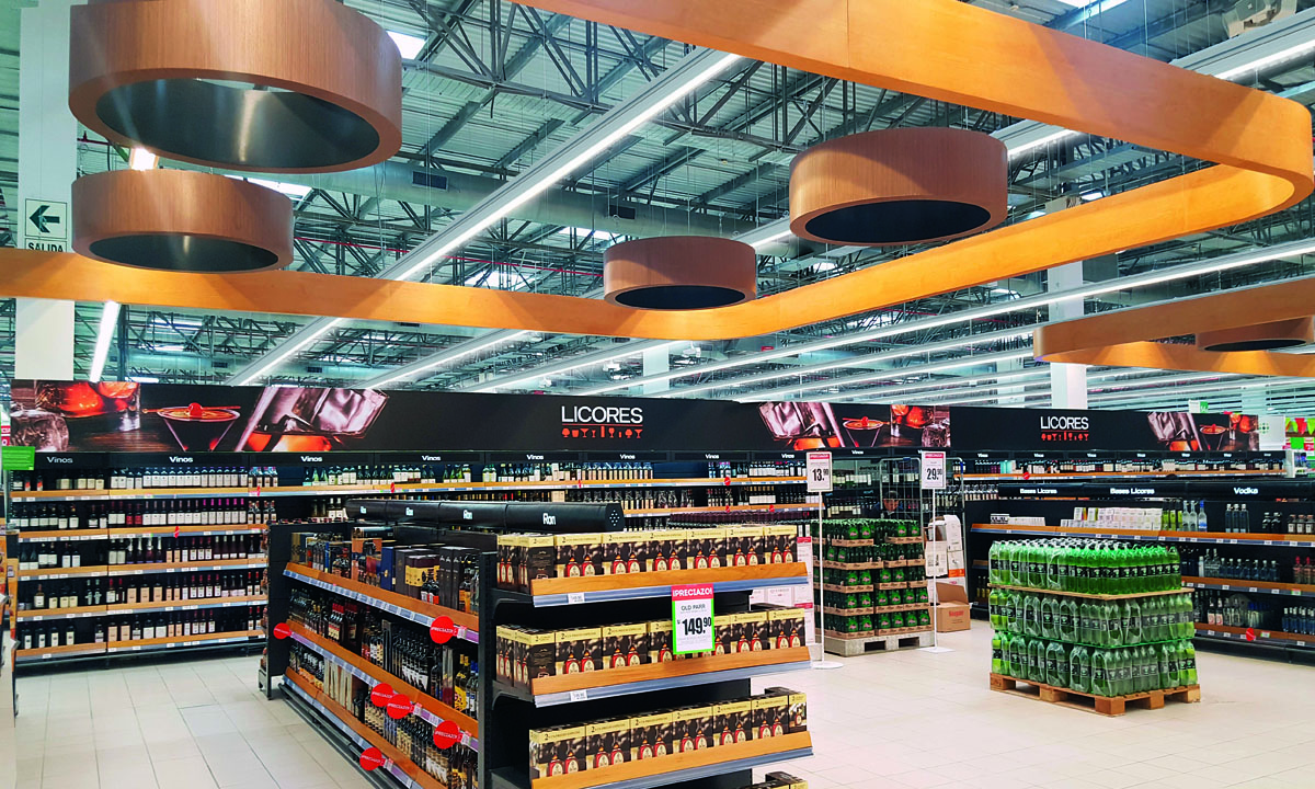 Plafoniere Industriali A Led Disano : Techno system led